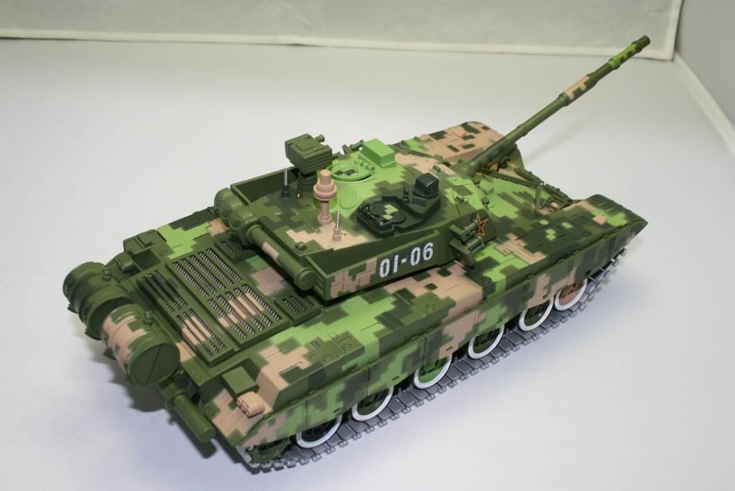 98式主战坦克迷彩色1:30